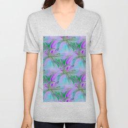 Floral Exotica Unisex V-Neck