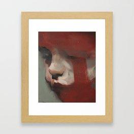 title pending Framed Art Print