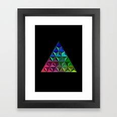 Triangel Framed Art Print