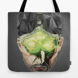 Triangles Video Games Heroes - Sam Fisher Tote Bag