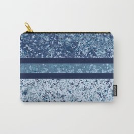 Vintage Terrazzo Blues Carry-All Pouch