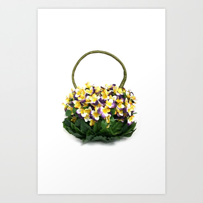 Viola Handbag Art Print