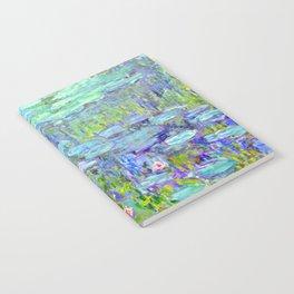 Water Lilies monet : Nympheas Notebook