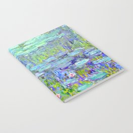 Water Lilies monet : Nympheas Notebook
