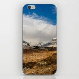 Mountain Highway Snowdonia iPhone Skin
