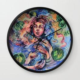 Ophelia had a dream Wall Clock