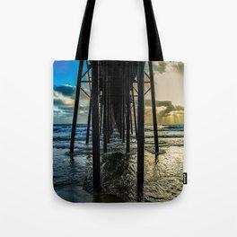 Sky Painting (Oceanside Pier) ~ 10-2015 Tote Bag