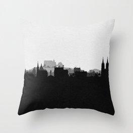 City Skylines: Marburg Throw Pillow