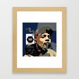 DJ RASHAD Framed Art Print