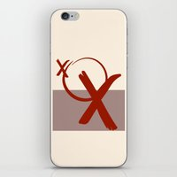 xoxo iPhone & iPod Skins featuring XOXO by clemm
