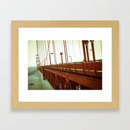 Golden Gate Bridge - SF Framed Art Print