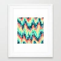 rush Framed Art Prints featuring Rush by Jacqueline Maldonado