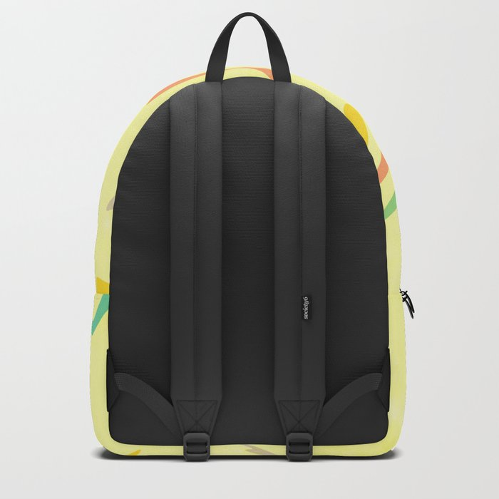 Cute frog looking up Backpack