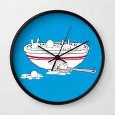 Bunny Soup Wall Clock