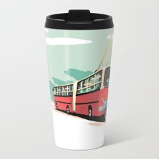 Ikarus Trolleybus Metal Travel Mug