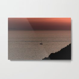 Sunset | Nature and Landscape Photography Metal Print