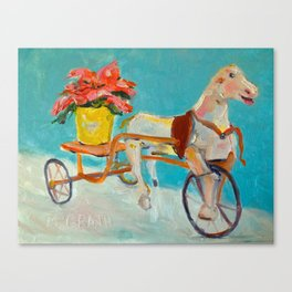 Attic Horse Canvas Print
