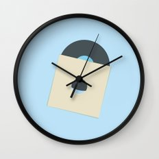 Blue Moon Rising - 20:12 Wall Clock