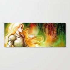 Battle Canvas Print
