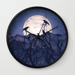 Midnight Chorus Wall Clock