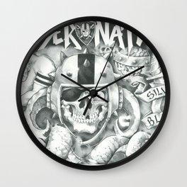 Raider Nation Wall Clock
