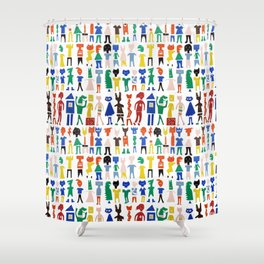 Characters Shower Curtain