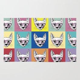 geek cool cat Rug