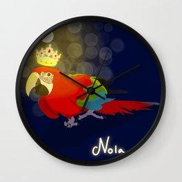 Nola <3 Wall Clock