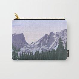 Rocky Mountain National Park Poster, Colorado, USA, Denver, Rocky Mountains, National Parks Carry-All Pouch