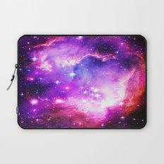 nebula Galaxy Purple Laptop Sleeve