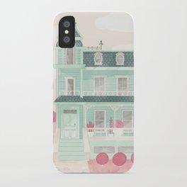 La maison brocoli iPhone Case