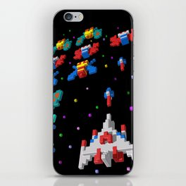 Inside Galaga iPhone Skin