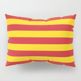 Macedonia Vietnam Northumberland flag stripes Pillow Sham