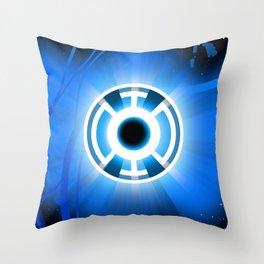 365 days of superheroes - Day 11: Blue Lantern Throw Pillow