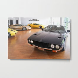 Bunch of classic metal  Metal Print