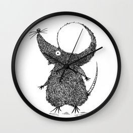 Topila of a mouse Wall Clock