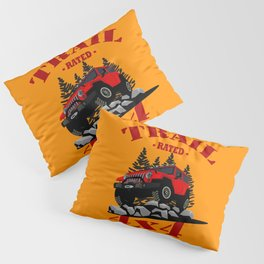 Trail Rated (Red) Pillow Sham