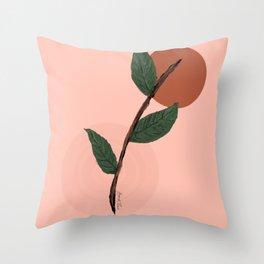 Little Plant Cutting Throw Pillow