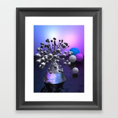 the other bouquet Framed Art Print