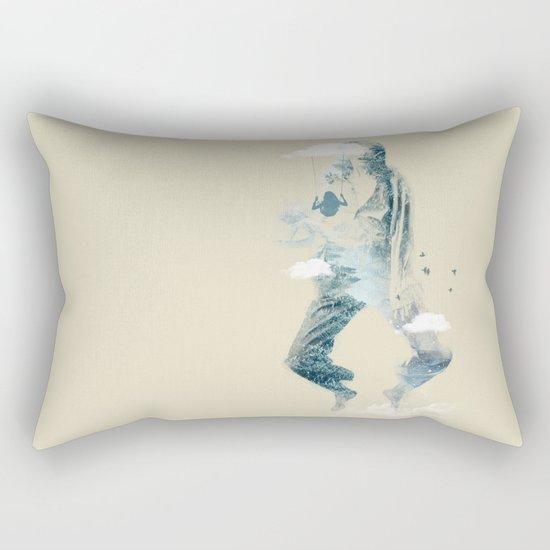 Free Falling Rectangular Pillow