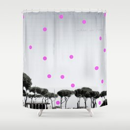When in Rome Shower Curtain