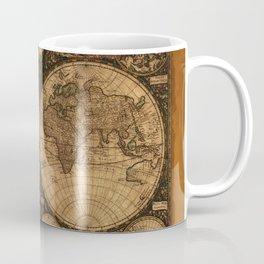 Nova Totius Terrarum Vintage Map Coffee Mug