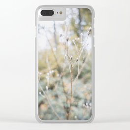 Forest (I) Clear iPhone Case