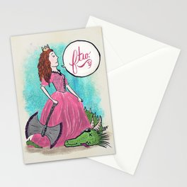 Princess FTW Stationery Cards