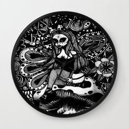 Arcturian In Wonderland Wall Clock