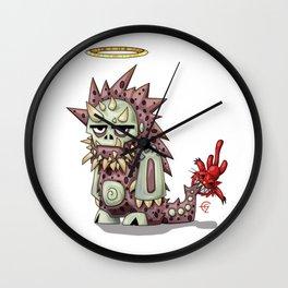Cute Monster Wall Clock