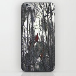 A bright little spark of life iPhone Skin