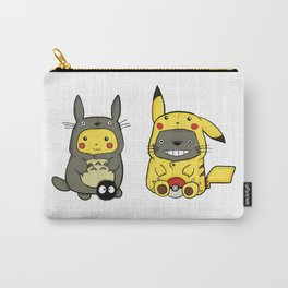 Tottoro and Pikachuu Onesies Carry-All Pouch
