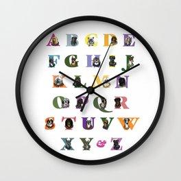 Alphabuddies Wall Clock
