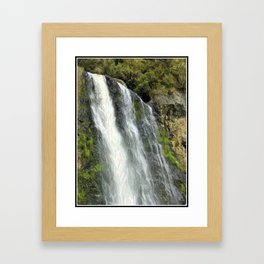 Hunua Falls, NZ Framed Art Print